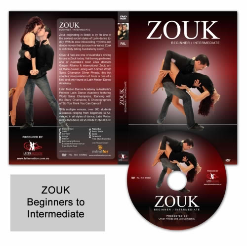 Zouk Beginners to Intermediate