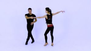 B11 Bachata intermediate - advanced pattern