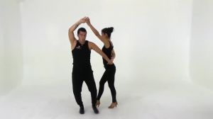 B2 Bachata Turn Pattern