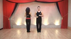 K1 Kizomba basic steps breakdown and to music