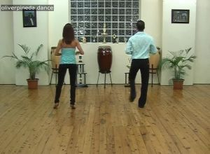 M1 Mambo basic step breakdown for guys and girls